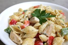 chicken pasta salad strange brew chicken and pasta salad with creamy chamomile dressing
