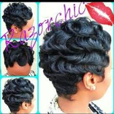 razor chic hairstyles how to do finger waves with weave google search head over