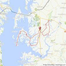 map of maryland to print chesapeake challenge easton md june 17 18 2017 bike new