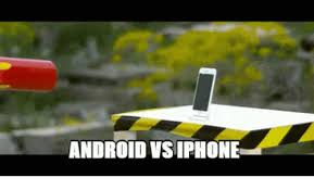 why are androids better than iphones android vsiphone android better than iphone meme on me me