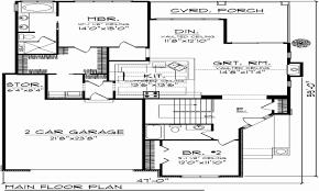 split plan house beautiful bedroom house plan with garage split plans six cottage 2