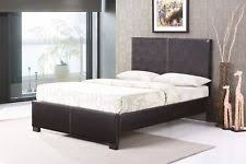 Leather Bed Frame Queen Queen Size Beds And Bed Frames Ebay