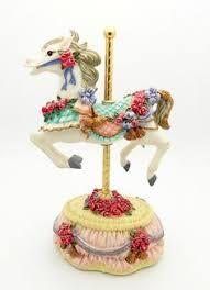 vintage animal carousel ornaments nursery ornament
