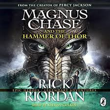 magnus chase and the hammer of thor audiobook rick riordan