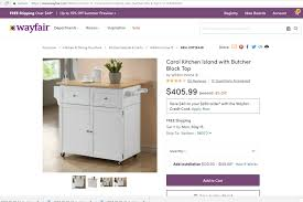 mainstays kitchen island cart uncategorized reviews of wildon home furniture
