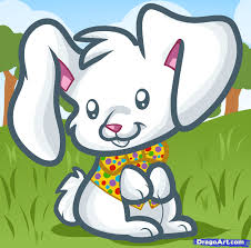 how to draw an easter bunny for kids step by step easter