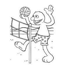 coloring page for toddlers 10 best volleyball coloring pages for toddlers
