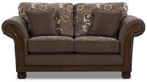 Chesterfield Style Sofa Sale by Hazel Chenille Loveseat Quartz The Brick
