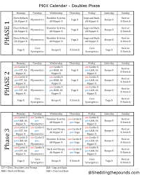 printable workout plan calendar p90x doubles calendar review of the workout schedule