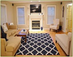 Area Room Rugs New Navy Area Rug 8x10 Impressive Bedroom Solid Blue Home Design