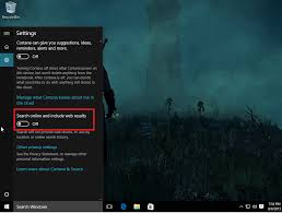 Windows Search Box - how to disable bing web results in windows 10 u0027s search pcworld