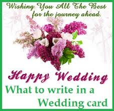 best wishes for wedding card congratulation wedding messages