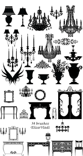 Chandelier Photoshop Brushes 189 Best Logo Images On Pinterest Vintage Clip Art Diy Wedding