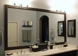 diy bathroom mirror frame ideas wonderful framed bathroom mirrors ideas diy bathroom mirror frame
