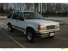 1994 ford explorer xlt 1994 oxford white ford explorer xlt 4x4 58853132 gtcarlot com