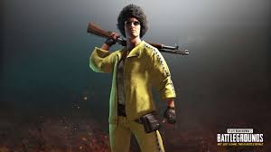 pubg wallpaper 4k pubg player unknown battlegrounds yellow tracksuit set uhd 4k