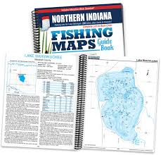 Indiana Zip Code Map Northern Indiana Fishing Map Guide Jim Billing 9781885010483