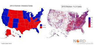Romney Obama Map Sparks Post