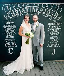 wedding backdrop chalkboard chalkboard backdrops chic
