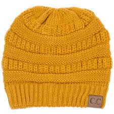 Yellow Mustard Color C C Beanie Cable Knit Beanie In Mustard Hat 20a Mustard