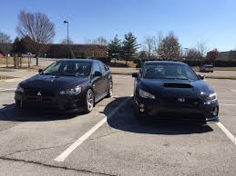 mitsubishi evo 2015 evo x vs 2015 sti evolutionm net