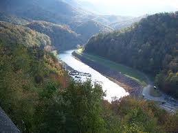 Tennessee rivers images Tennessee river near fontana dam jpg