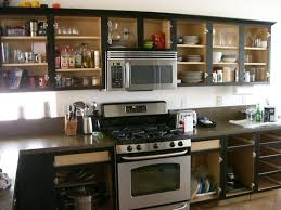 How To Paint Old Kitchen Cabinets Ideas Kitchen Without Cabinet Doors Image Collections Glass Door