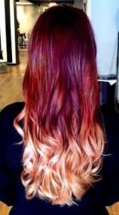 35 best red and blonde ombre images on pinterest hairstyles