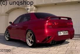 rear bumper x treme alfa romeo 156