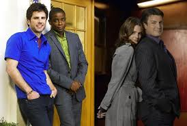 james roday and maggie lawson 2015 march madness tv breakroom