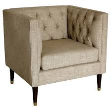 Tufted Chair And A Half Tufted Arm Chair Nate Berkus Target