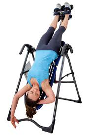 inverted table for herniated disc teeter ep 560 inversion table with back pain relief pain dvd