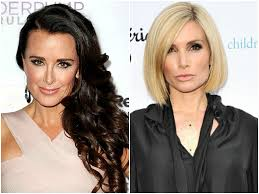 hair style from housewives beverly hills irealhousewives the 411 on american international real