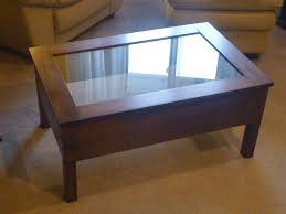 coffee table shadow box u2013 rawesomewood