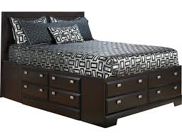 Captain Bed With Storage Yorkdale Queen Bed With Storage 265qsbed The Brick Bedroom