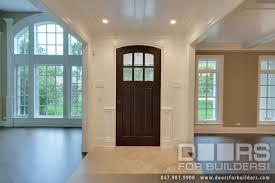 Front Door Interior Classic Solid Wood Front Entry Door Clear Beveled Glass