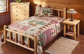 10 rustic log beds real country ladies