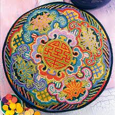 Kaffe Fassett Tapestry Cushion Kits On Sale Ehrman Tapestry