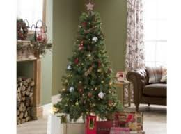 6ft christmas tree evergreen fir 6ft christmas tree only 3 75 tesco direct