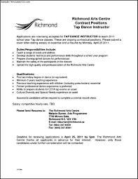 Sample Teacher Resume Format by Dance Teacher Resume Template Resume For Your Job Application
