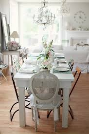 Best Cottage Style  Dining Rooms Images On Pinterest Live - Chic dining room ideas