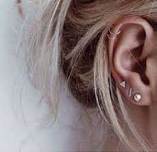 second earrings 29 best piercing inspiration images on earrings ear