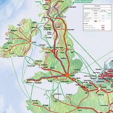 London Bus Map Großbritannien Anreise Mit Zug Und Fähre Mit Bus Fahrradmitnahme