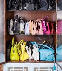 25 life changing ways to organize your purses closetful of clothes