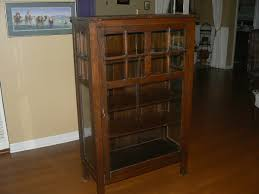 Mission Bookcase Plans Antique Mission Single Door Cabinet Bookcase Are These Valuable