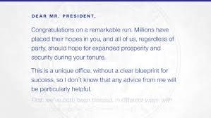 read the inauguration day letter obama left for trump cnnpolitics
