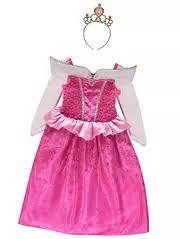 pink disney princesses fancy dress kids george at asda