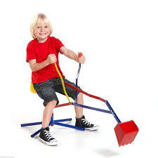 children u0027s toy sit on mini sand digger amazon co uk toys u0026 games
