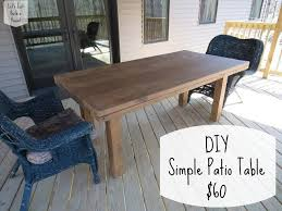 Best Wood For Outdoor Table by Make Wood Patio Furniture