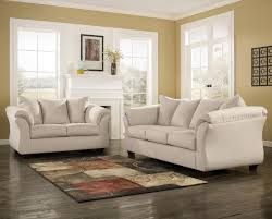 Ashley Living Room Furniture Sets Signature Design By Ashley Darcy Stone Contemporary Upholstered